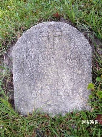 MCKAN, NICKLESS - Hancock County, Mississippi | NICKLESS MCKAN - Mississippi Gravestone Photos