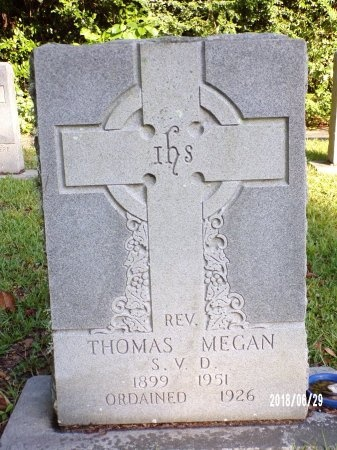 MEGAN, REV, THOMAS - Hancock County, Mississippi | THOMAS MEGAN, REV - Mississippi Gravestone Photos