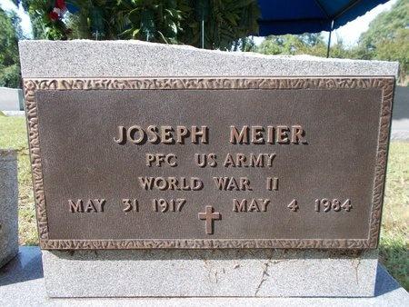 MEIER (VETERAN WWII), JOSEPH (NEW) - Hancock County, Mississippi | JOSEPH (NEW) MEIER (VETERAN WWII) - Mississippi Gravestone Photos