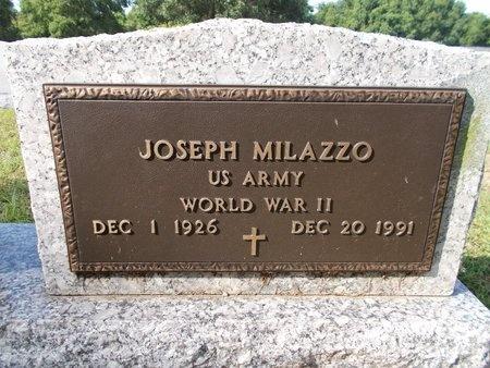 MILAZZO (VETERAN WWII), JOSEPH (NEW) - Hancock County, Mississippi | JOSEPH (NEW) MILAZZO (VETERAN WWII) - Mississippi Gravestone Photos
