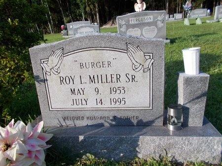 "MILLER, ROY L, SR ""BURGER"" - Hancock County, Mississippi   ROY L, SR ""BURGER"" MILLER - Mississippi Gravestone Photos"