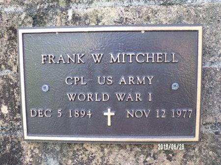 MITCHELL (VETERAN WWI), FRANK W (NEW) - Hancock County, Mississippi | FRANK W (NEW) MITCHELL (VETERAN WWI) - Mississippi Gravestone Photos