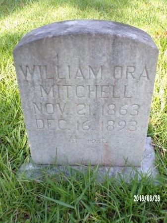 MITCHELL, WILLIAM ORA - Hancock County, Mississippi | WILLIAM ORA MITCHELL - Mississippi Gravestone Photos