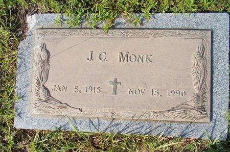 MONK, J C - Hancock County, Mississippi | J C MONK - Mississippi Gravestone Photos
