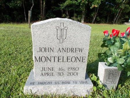 MONTELEONE, JOHN ANDREW - Hancock County, Mississippi | JOHN ANDREW MONTELEONE - Mississippi Gravestone Photos