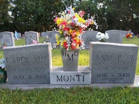 MONTI, CAROL SUE - Hancock County, Mississippi | CAROL SUE MONTI - Mississippi Gravestone Photos