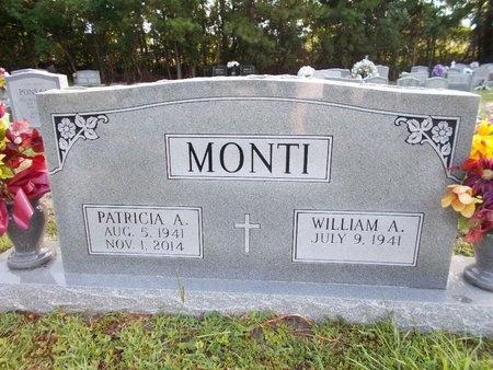 MONTI, PATRICIA A - Hancock County, Mississippi   PATRICIA A MONTI - Mississippi Gravestone Photos