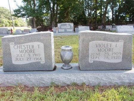 MOORE, VIOLET I - Hancock County, Mississippi | VIOLET I MOORE - Mississippi Gravestone Photos