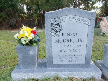 MOORE, ERNEST, JR - Hancock County, Mississippi   ERNEST, JR MOORE - Mississippi Gravestone Photos