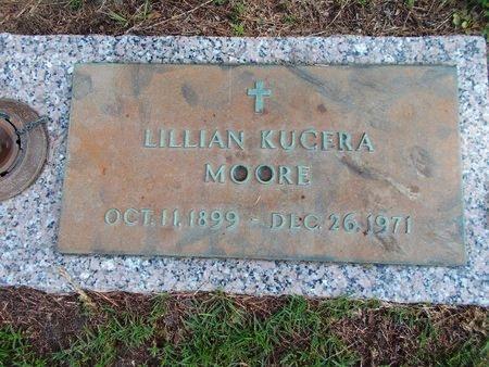KUCERA MOORE, LILLIAN - Hancock County, Mississippi   LILLIAN KUCERA MOORE - Mississippi Gravestone Photos