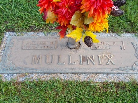 MULLINIX, WILLIAM M - Hancock County, Mississippi   WILLIAM M MULLINIX - Mississippi Gravestone Photos