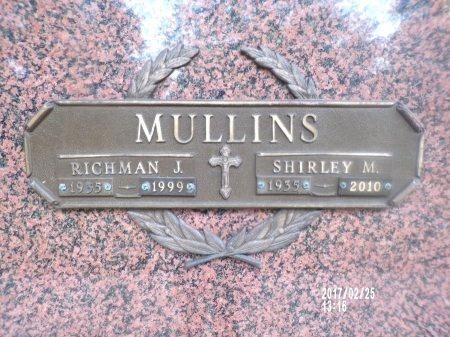 MULLINS, SHIRLEY MAE - Hancock County, Mississippi | SHIRLEY MAE MULLINS - Mississippi Gravestone Photos
