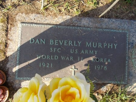 MURPHY (VETERAN 2 WARS), DAN BEVERLY (NEW) - Hancock County, Mississippi | DAN BEVERLY (NEW) MURPHY (VETERAN 2 WARS) - Mississippi Gravestone Photos