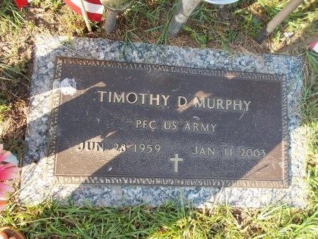 MURPHY (VETERAN), TIMOTHY D (NEW) - Hancock County, Mississippi | TIMOTHY D (NEW) MURPHY (VETERAN) - Mississippi Gravestone Photos