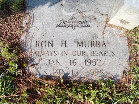 MURRAY, RON H - Hancock County, Mississippi | RON H MURRAY - Mississippi Gravestone Photos