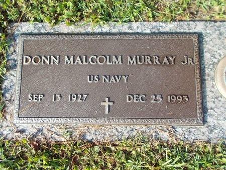 MURRAY (VETERAN), DONN MALCOLM, JR (NEW) - Hancock County, Mississippi | DONN MALCOLM, JR (NEW) MURRAY (VETERAN) - Mississippi Gravestone Photos