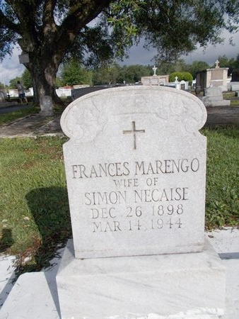 NECAISE, FRANCES - Hancock County, Mississippi | FRANCES NECAISE - Mississippi Gravestone Photos
