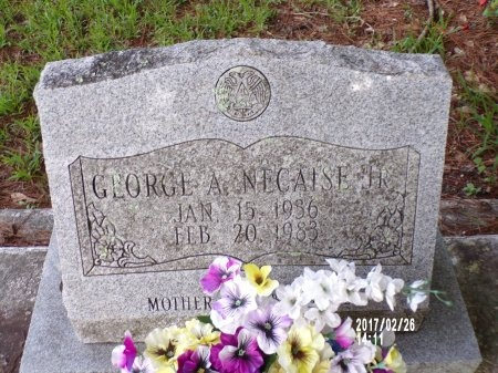 NECAISE, GEORGE A., JR - Hancock County, Mississippi | GEORGE A., JR NECAISE - Mississippi Gravestone Photos