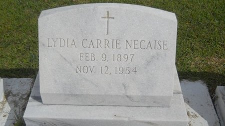 NECAISE, LYDIA CARRIE - Hancock County, Mississippi | LYDIA CARRIE NECAISE - Mississippi Gravestone Photos