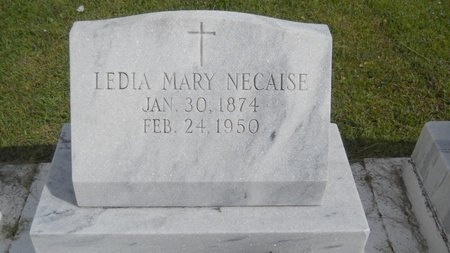 NECAISE, LEDIA MARY - Hancock County, Mississippi | LEDIA MARY NECAISE - Mississippi Gravestone Photos