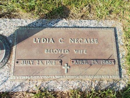 NECAISE, LYDIA C - Hancock County, Mississippi | LYDIA C NECAISE - Mississippi Gravestone Photos