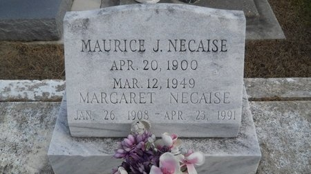 NECAISE, MAURICE J - Hancock County, Mississippi | MAURICE J NECAISE - Mississippi Gravestone Photos