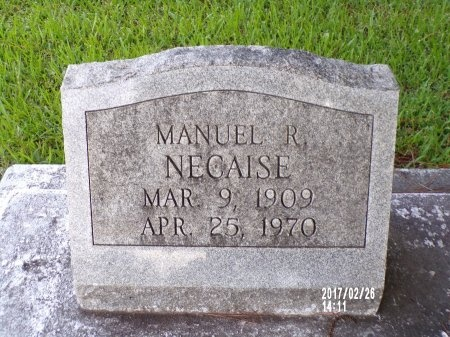 NECAISE, MANUEL R - Hancock County, Mississippi | MANUEL R NECAISE - Mississippi Gravestone Photos