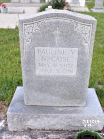 NECAISE, PAULINE - Hancock County, Mississippi | PAULINE NECAISE - Mississippi Gravestone Photos