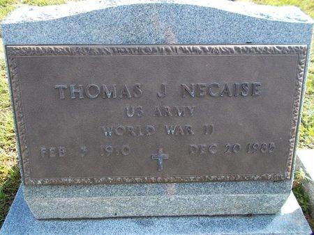 NECAISE (VETERAN WWII), THOMAS J (NEW) - Hancock County, Mississippi | THOMAS J (NEW) NECAISE (VETERAN WWII) - Mississippi Gravestone Photos