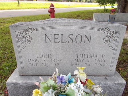 NELSON, THELMA B - Hancock County, Mississippi | THELMA B NELSON - Mississippi Gravestone Photos