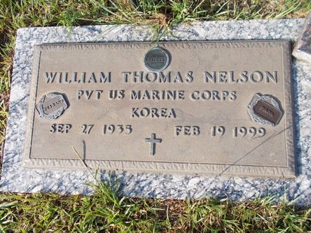 NELSON (VETERAN KOR), WILLIAM THOMAS (NEW) - Hancock County, Mississippi | WILLIAM THOMAS (NEW) NELSON (VETERAN KOR) - Mississippi Gravestone Photos