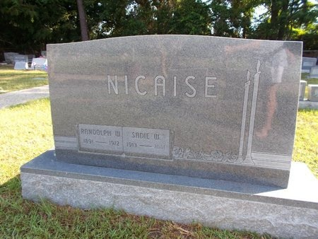 NICAISE, SADIE W - Hancock County, Mississippi | SADIE W NICAISE - Mississippi Gravestone Photos