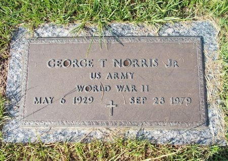 NORRIS (VETERAN WWII), GEORGE T., JR (NEW) - Hancock County, Mississippi   GEORGE T., JR (NEW) NORRIS (VETERAN WWII) - Mississippi Gravestone Photos