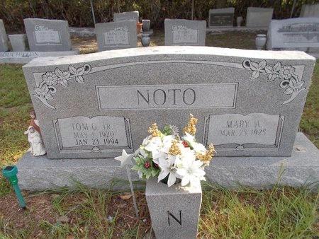 NOTO, TOM G., JR - Hancock County, Mississippi   TOM G., JR NOTO - Mississippi Gravestone Photos