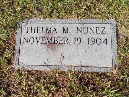 MUNSCHE HUHNER NUNEZ, THELMA (OBIT) - Hancock County, Mississippi | THELMA (OBIT) MUNSCHE HUHNER NUNEZ - Mississippi Gravestone Photos