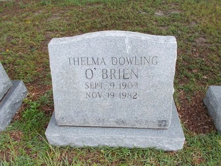O'BRIEN, THELMA - Hancock County, Mississippi | THELMA O'BRIEN - Mississippi Gravestone Photos