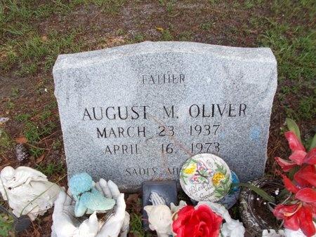 OLIVER, AUGUST M - Hancock County, Mississippi | AUGUST M OLIVER - Mississippi Gravestone Photos