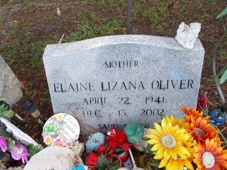OLIVER, ELAINE - Hancock County, Mississippi | ELAINE OLIVER - Mississippi Gravestone Photos
