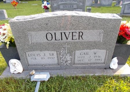 OLIVER, GAIL W - Hancock County, Mississippi | GAIL W OLIVER - Mississippi Gravestone Photos