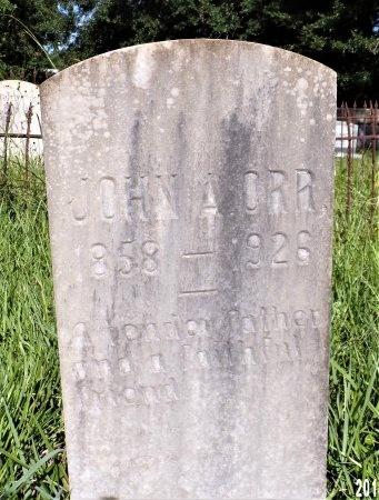ORR, JOHN A - Hancock County, Mississippi | JOHN A ORR - Mississippi Gravestone Photos