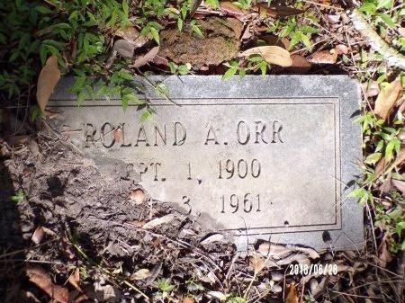 ORR, ROLAND ALEXANDER - Hancock County, Mississippi   ROLAND ALEXANDER ORR - Mississippi Gravestone Photos