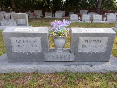 PARKER, GIVENS V - Hancock County, Mississippi | GIVENS V PARKER - Mississippi Gravestone Photos