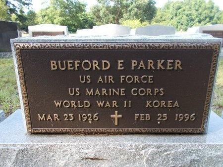 PARKER (VETERAN 2 WARS), BUEFORD E (NEW) - Hancock County, Mississippi | BUEFORD E (NEW) PARKER (VETERAN 2 WARS) - Mississippi Gravestone Photos