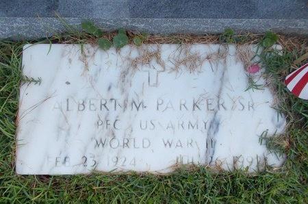 PARKER (VETERAN WWII), ALBERT M, SR (NEW) - Hancock County, Mississippi | ALBERT M, SR (NEW) PARKER (VETERAN WWII) - Mississippi Gravestone Photos