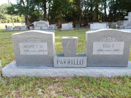 PARRILLO, ELLA F - Hancock County, Mississippi | ELLA F PARRILLO - Mississippi Gravestone Photos