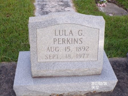 PERKINS, LULA G - Hancock County, Mississippi | LULA G PERKINS - Mississippi Gravestone Photos