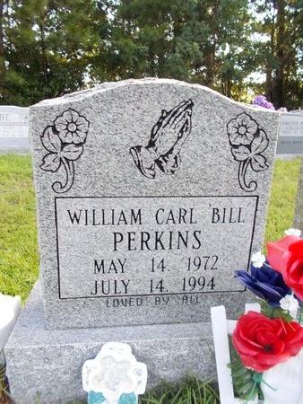 "PERKINS, WILLIAM CARL ""BILL"" - Hancock County, Mississippi   WILLIAM CARL ""BILL"" PERKINS - Mississippi Gravestone Photos"