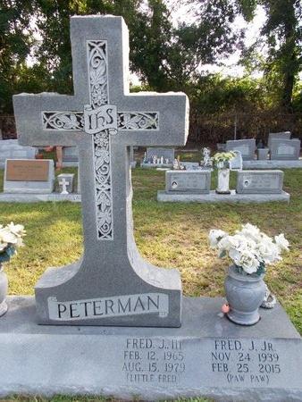 PETERMAN, FRED J., III - Hancock County, Mississippi | FRED J., III PETERMAN - Mississippi Gravestone Photos