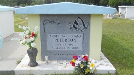 PETERSON, ANGELINA D - Hancock County, Mississippi | ANGELINA D PETERSON - Mississippi Gravestone Photos