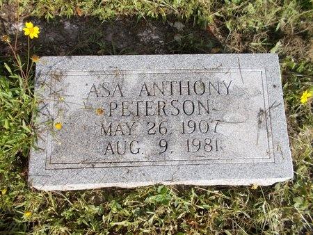 PETERSON, ASA ANTHONY - Hancock County, Mississippi | ASA ANTHONY PETERSON - Mississippi Gravestone Photos